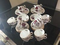 Colclough Bone China Tea Sets.