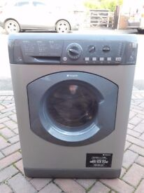 Silver Hotpoint 7kg washer-dryer