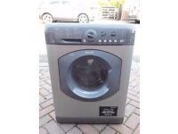 Silver Hotpoint 7kg washer-dryer