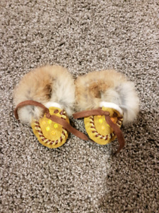 Authentic Baby size mocassins