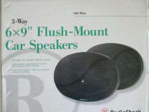 6 x 9 Car Speakers - NEW, NEVER USED