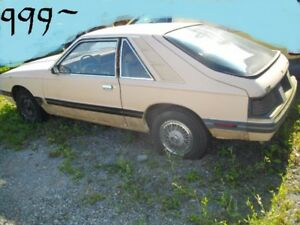1983 mercury capri runs and drives