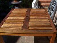 Wooden Garden Table.