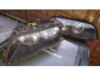 e46 saloon headlights preface lift genuine bosch