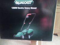 Electric mower brand new