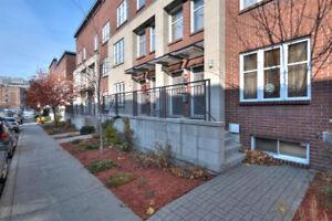 Vieux Montréal-Old Mtl 2 chambres 2 étages,Terrasse 270pc Garage