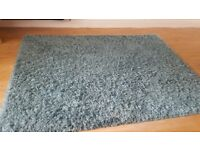 Teal large next rug