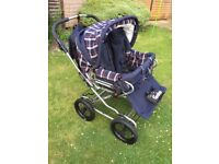 Emmaljunga Twin Double Pushchair