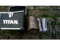 Titan core bit set