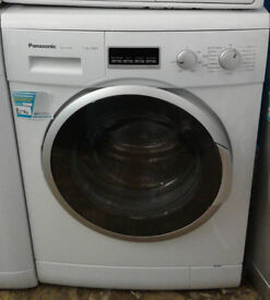 O339 white panasonic 7kg 1400spin washing machine comes with warranty can be delivered or collected