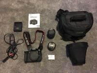 Canon EOS 650D Camera with 2 lenses and bags