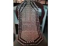 Cool retro beaded car seat covers x2