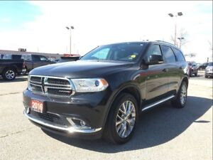 2016 Dodge Durango LIMITED**LEATHER**SUNROOF**DVD**NAVIGATION**
