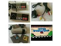 NES Original 1985 Console and Games