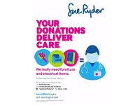 WANTED:Looking to donate your furniture to charity? - Free Collections* Sue Ryder Sherborne DT9 3BP