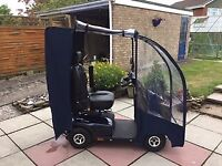 INVACARE COMET MOBILITY SCOOTER 8mph with canopy