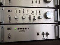 RARE Aiwa Mini Component Stereo System R22 C22 P22 Power Amp/ Preamp/ Tuner c/w MM Phono - FWO, VGC