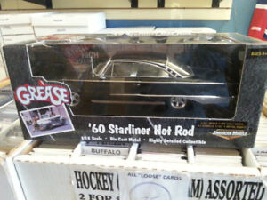 ERTL 1:18 Scale 60 Starliner Hot Rod From The Movie Grease
