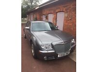 Chrysler 300c CRD delux pack,sunroof , leather, tints, £4995, only 59,245 miles
