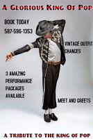 Michael Jackson Tribute Artist for hire
