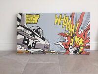 Roy Lichtenstein 'Whaam!' Canvas Painting