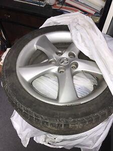 Pneus et mags pour Mazda 6 (négociable)