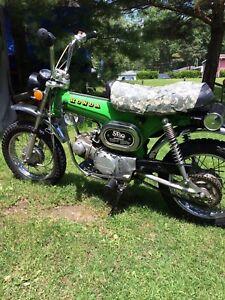 Two 1973 Honda st 90