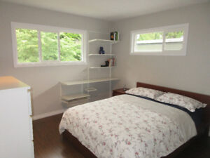 Private furnished room at upper floor of a house in Lynn Valley