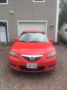 07 Mazda 3 with trailer hitch