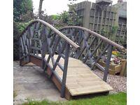 Garden pond Stream Bridge Arched