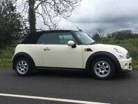 2012 MINI COOPER D CONVERTIBLE **ONLY 30k MILES** £20 TAX 65MPG