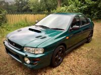Subaru Impreza Turbo 2000 - Low mileage, FSH, garaged - fit brake calipers to get back on the road.