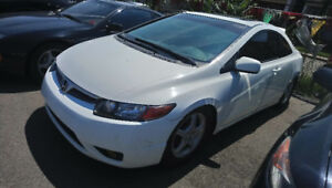 2008 Honda Civic Coupe (2 door) Certified