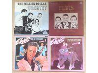 Elvis 54-56 recordings Uk lps
