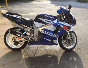 blown GSXR 750, needs motor or rebuild