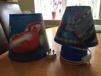 Children's Cars 2 Lamp And Light Shade