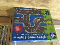 Giant road jigsaw puzzle 3+