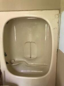 Bathtub enclosure, shower