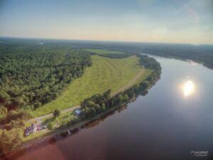 Drummondville, St-Nicéphore, chalet sur le bord de la rivière