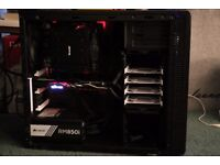 Gaming PC Ryzen 7 1700,16GB RAM,GTX980Ti,120GB m.2 SSD, 3TB HDD, Silent Case, GOLD PSU