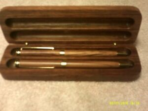 Wooden pens  and pencil sets