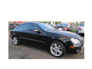 Mercedes Benz CLK 350  black  2007 only 114k asking for $10900