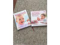 Annabel Karmel 2 x weaning books
