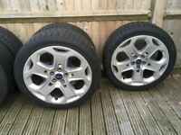 4 x Ford Alloys and Tyres