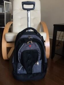 Tracker Backpack with Shoulder Straps and Wheels