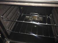 Silver cannon 50cm gas cooker grill & oven good condition