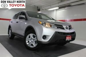 2013 Toyota RAV4 LE Btooth Cruise Pwr Wndws Mirrs Locks A/C