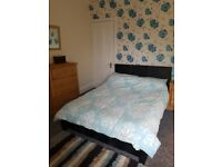 2nd hand double bed fram and matress