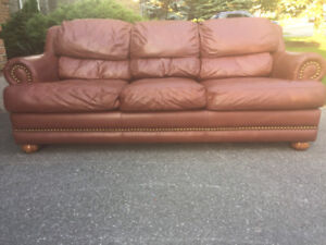 LA-Z-BOY All Leather Couch