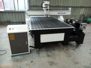 Brand New CNC Router. 4' x 8' with lathe. Servo Motor.